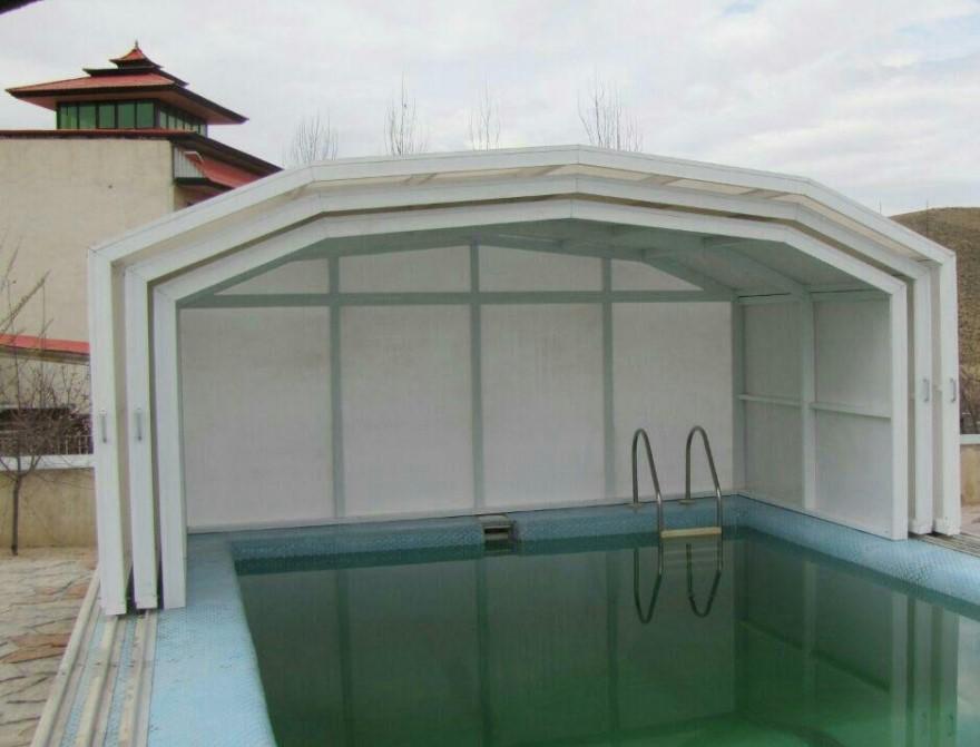 سقف حیاط خلوت پلی کربنات
