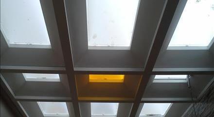 سقف حیاط خلوت پاسیو