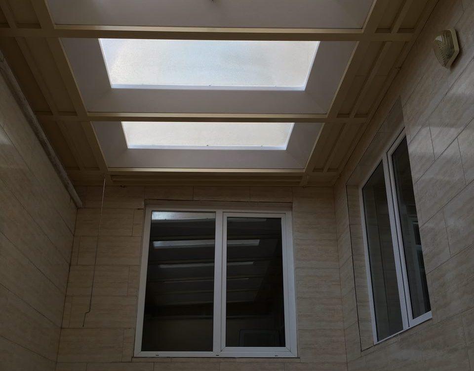 خدمات سقف حیاط خلوت