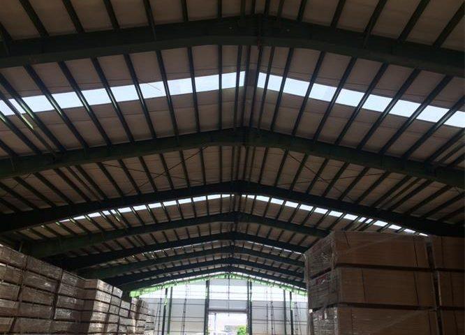 نورگیر سقف سوله