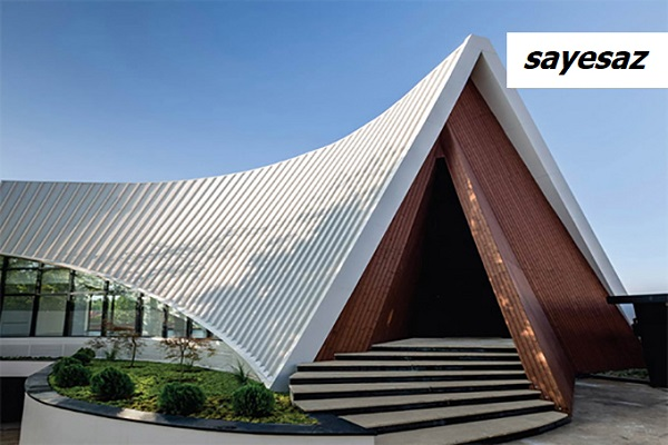 سقف ویلا در لواسان